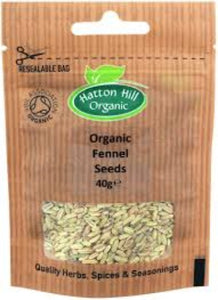 Organic Fennel Seeds 40g