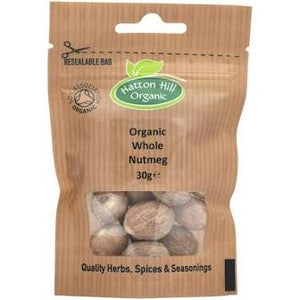 ORGANIC WHOLE NUTMEG 30G