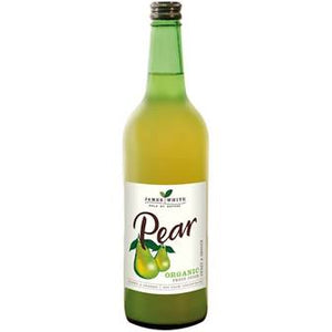 James White organic Pear juices 750ML