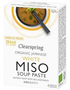 Clearspring Organic White Miso Soup Paste 60g