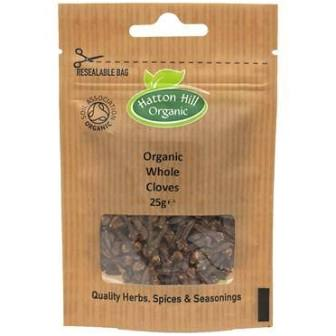 ORGANIC WHOLE CLOVES 25G
