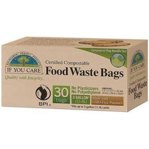 IF YOU CARE Food Waste Bags (30 bags )