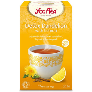 Yogi Tea Detox Dandelion with Lemon