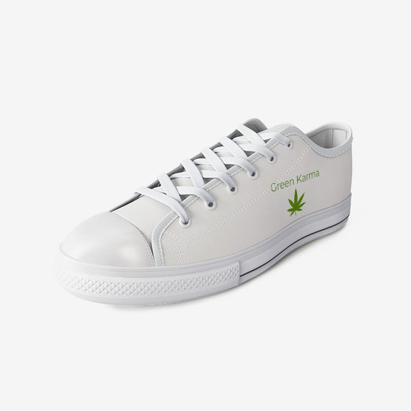 Unisex Low Top Canvas Shoes By Green Karma
