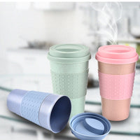 Travel Coffee Mug With Lid by EH-LIFE