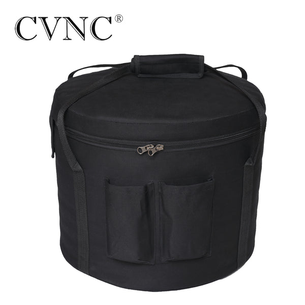 "CVNC 6"" 7"" 8"" 9"" 10"" 11"" 12""  any size Black Carry Bags for crystal singing bowl"