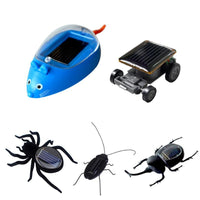 Solar Energy Vibrates Forward Plastic Simulation Insect Children Kids Toys