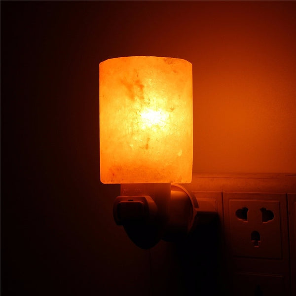 Himalayan Salt Night Light - Air Purifier