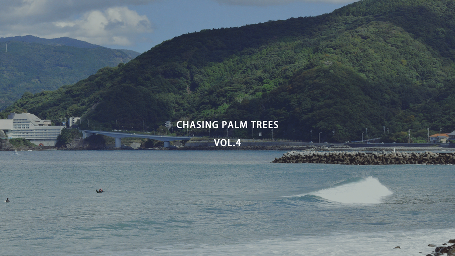 CHASING PALM TREES VOL.4  / IZU, JAPAN