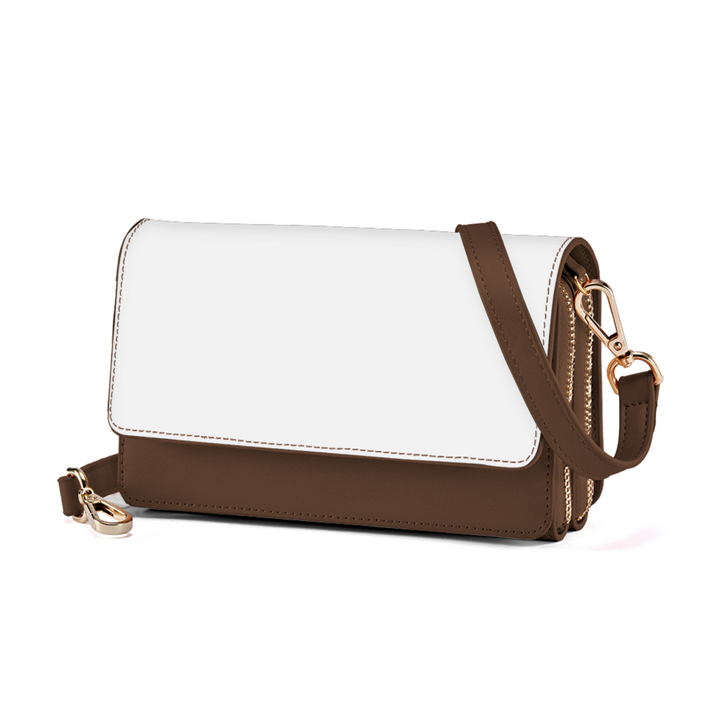 Double Shooter – Lady Double Wallet Cross Shoulder Bag