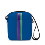 Tokay – Mens Flight Bag with Rainbow Stripy Pattern