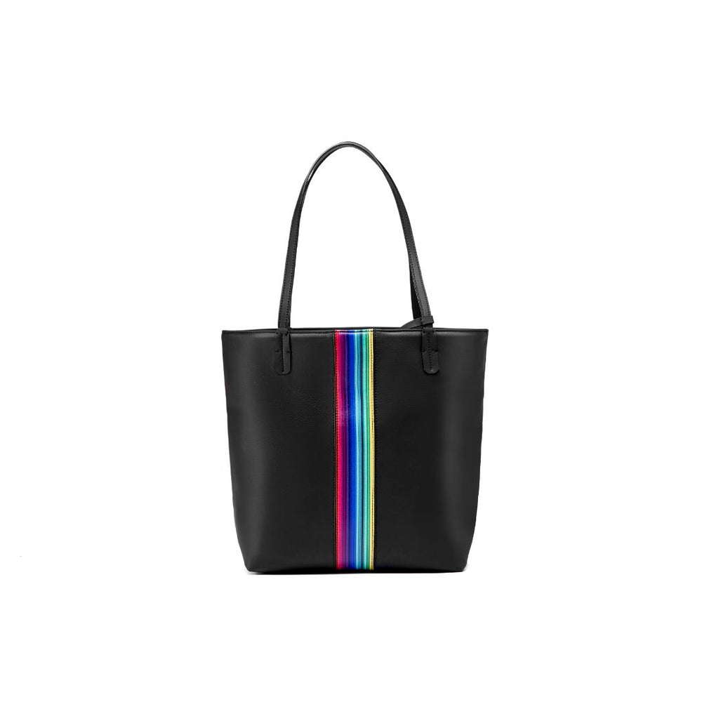 Apple Cider – Lady Formal Tote Bag with your Stripe Pattern
