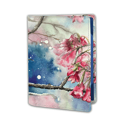 Passport Cover - Murmur of Fuchsia