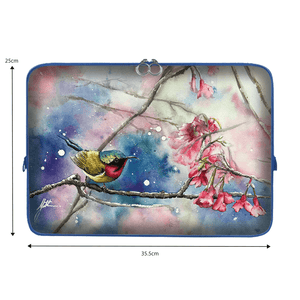 Laptop Sleeve - Murmur of Fuchsia