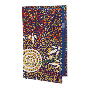 Vertical Book Card Case  - Yankirri Jukurrpa