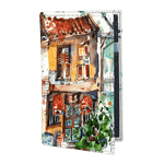 Vertical Book Card Case  - Armenian Street (r246)