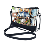 Trapezoid Crossbody - To the Market, Little India