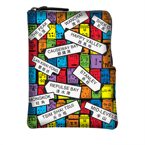 Cross body Phone Pouch - Letterbox Road Signs