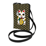 Cross body Phone Pouch -  Lucky Cat Armour