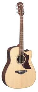 Yamaha A1R Acoustic/Electric Guitar, Vintage Natural