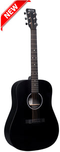Martin D-X1E Black Dreadnought Guitar