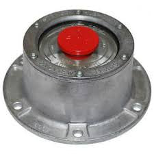 ALUMINUM HUB OIL CAP 6 HOLES WITH PLUG AND GASKET 4249