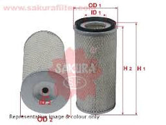 AIR FILTER EQUAL TO RS3996 AF26767 P762105 LAF6098 49711 A5111