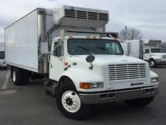 97 INTERNATIONAL 4700 REEFER BOX TRUCK