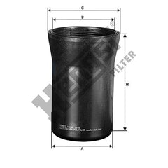 TP3012, 12633243, 98081884, P550883, LFF6012 H416WK HENGST FUEL FILTER 4 PACK