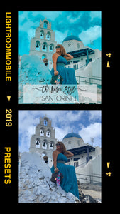 LIGHTROOM MOBILE Presets - SANTORINI