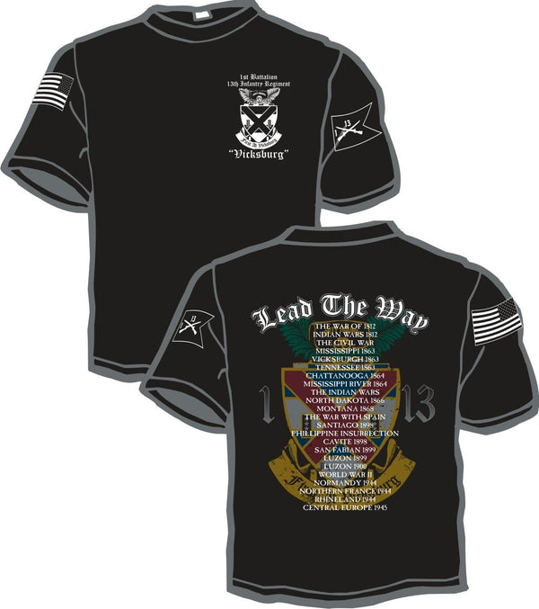 1st Battalion 13th Inf Reg Battalion Shirt