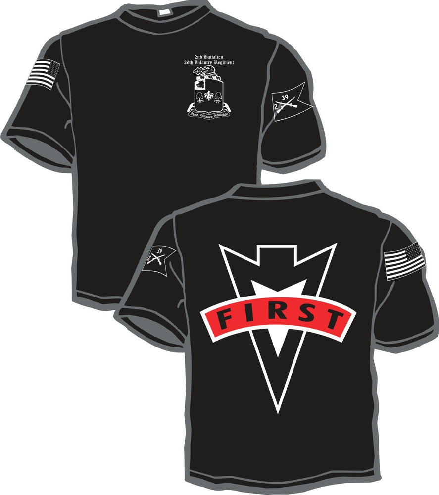 2nd Battalion 39th Inf Reg Battalion Shirt