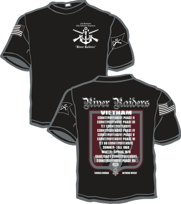 3rd Battalion 60th Inf Reg Battalion Shirt