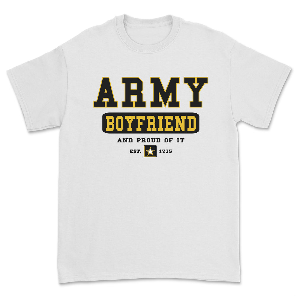 """Army Boyfriend"" Tee - White"