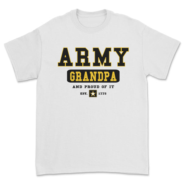 """Army Grandpa"" Tee - White"