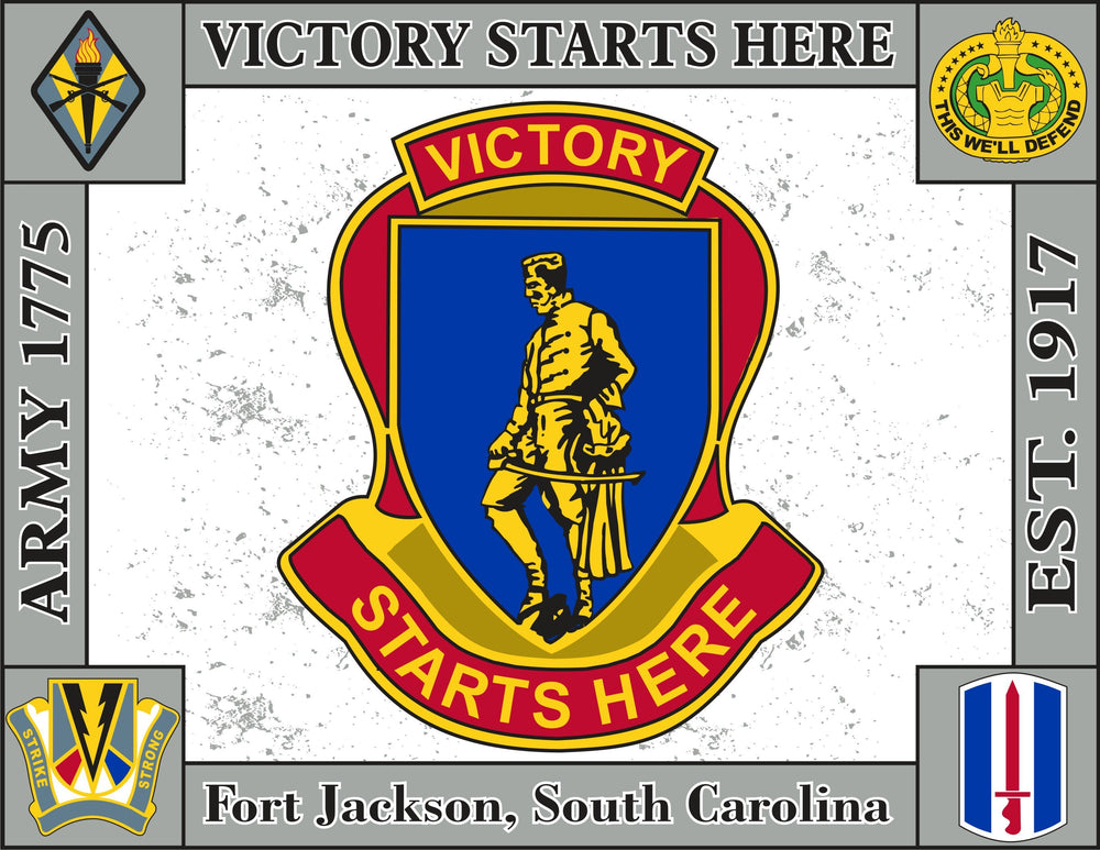 Fort Jackson Tapestry Blanket
