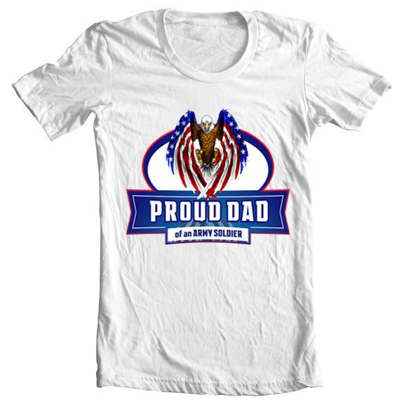 """Proud Dad"" Eagle Tee"