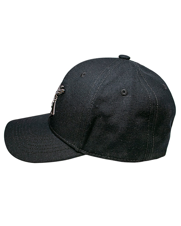 Metal Crossed Rifle Cap