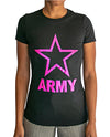"""Pink Army Star"" Tee"