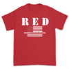 """RED"" Friday Tee - WHITE"