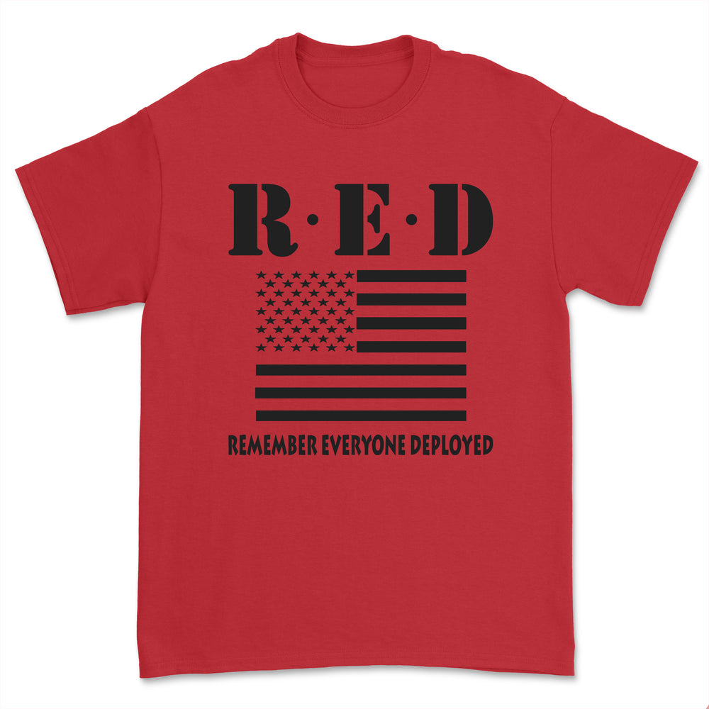"""RED"" Friday Tee - BLACK"