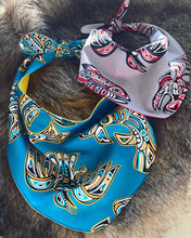 Load image into Gallery viewer, Reversible dog bandana