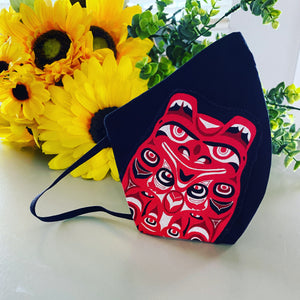 Custom Design Cloth Mask with Filter Pocket
