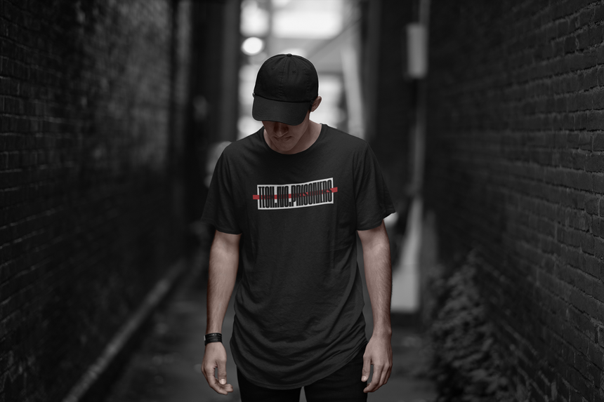 Techno Prisoner long body tee