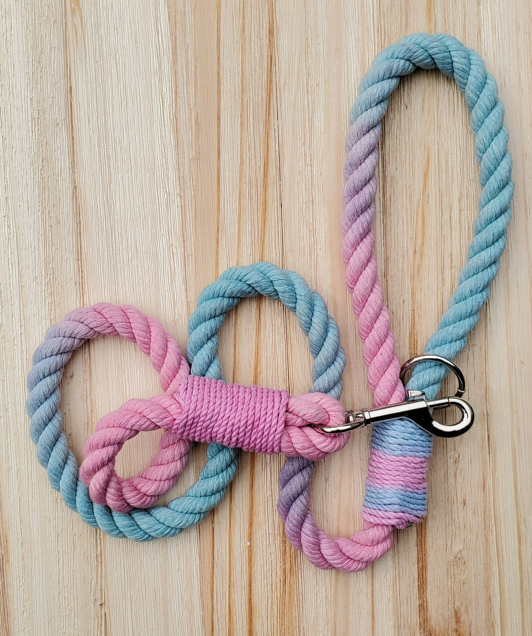 Cotton Candy Rope Leash