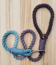 Load image into Gallery viewer, Onyx Sky Rope Leash
