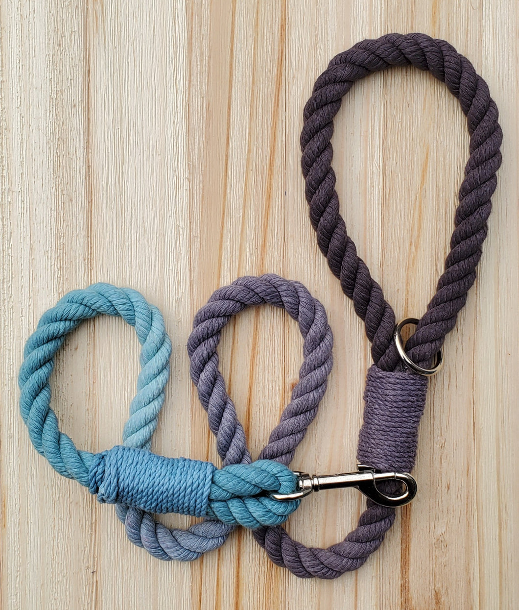 Onyx Sky Rope Leash