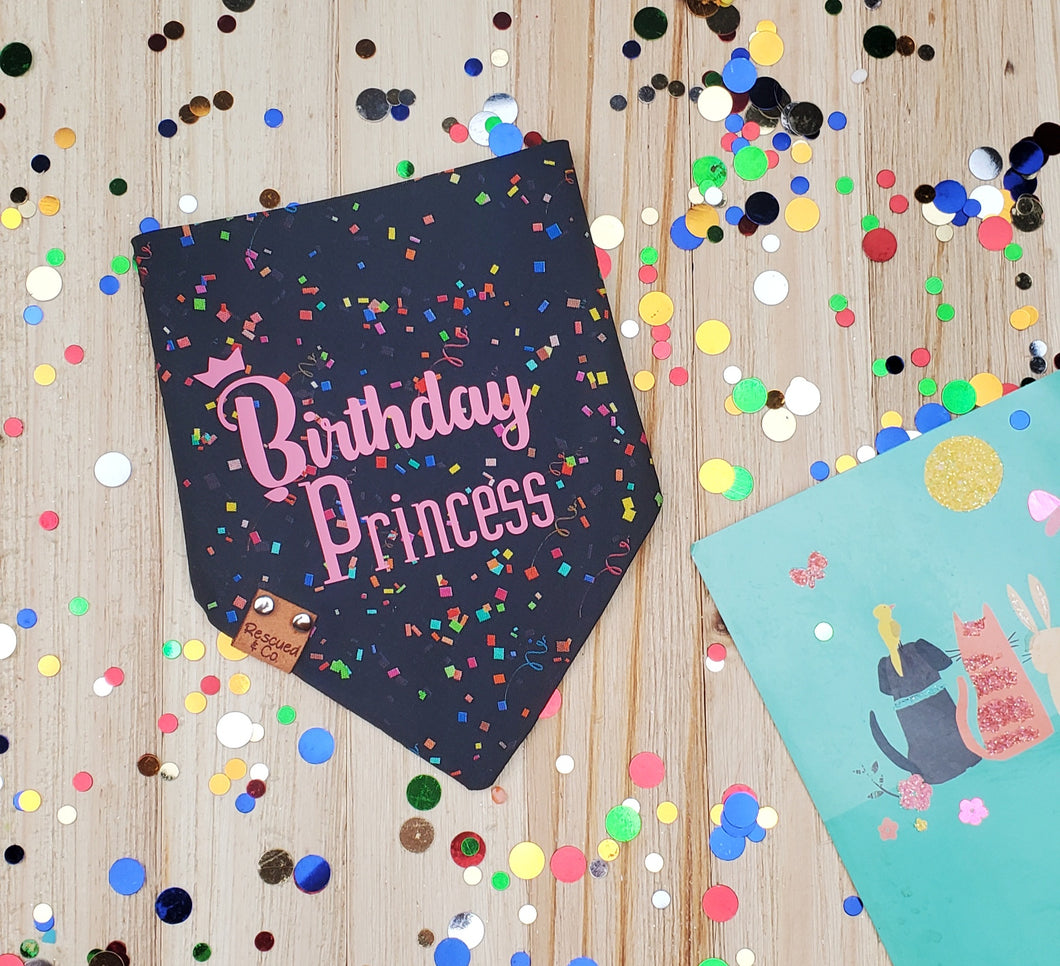 Birthday Princess - Black