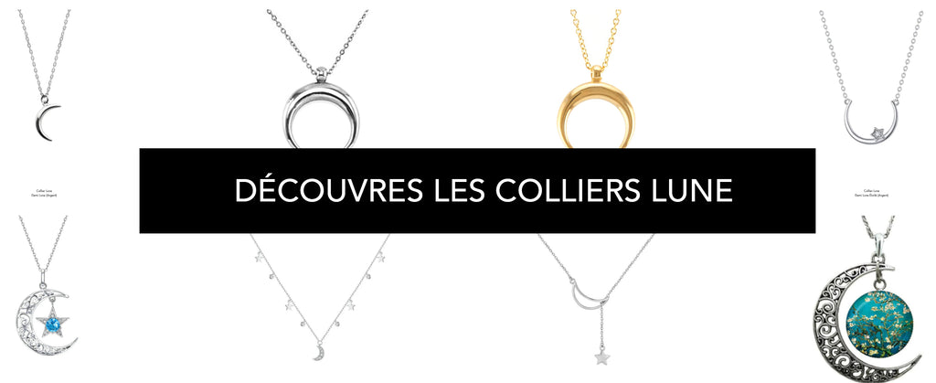 collection de collier lune