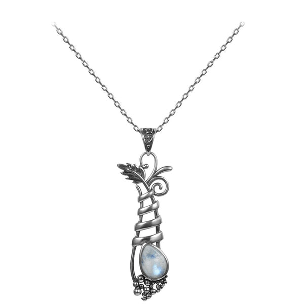 collier pierre de lune naturelle